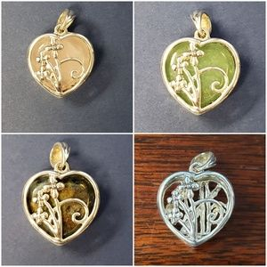 Jewelry - 6-in-1 Color Change Pendant in Sterling Silver